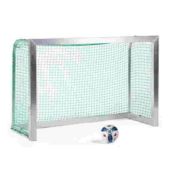 Sport-Thieme Mini-Trainingsdoel, volledig gelast 1,80x1,20 m, diepte 0,70 m, Incl. net groen (mw 4,5 cm)