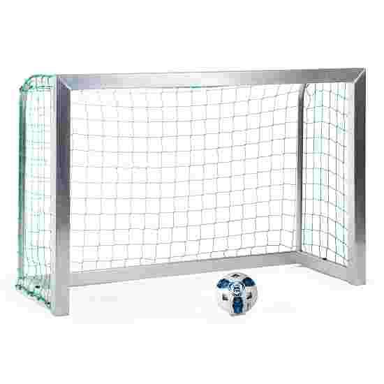 Sport-Thieme Mini-Trainingsdoel, volledig gelast 1,80x1,20 m, Tortiefe 0,70 m, Incl. net, groen (mw 10 cm)