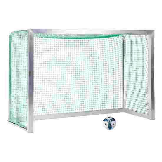 Sport-Thieme Mini-Trainingsdoel, volledig gelast 2,40x1,60 m, diepte 1,00 m, Incl. net groen (mw 4,5 cm)