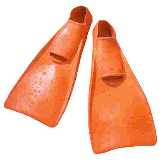 Sport-Thieme  Rubberen Zwemvliezen 34-35, L: 36 cm, oranje