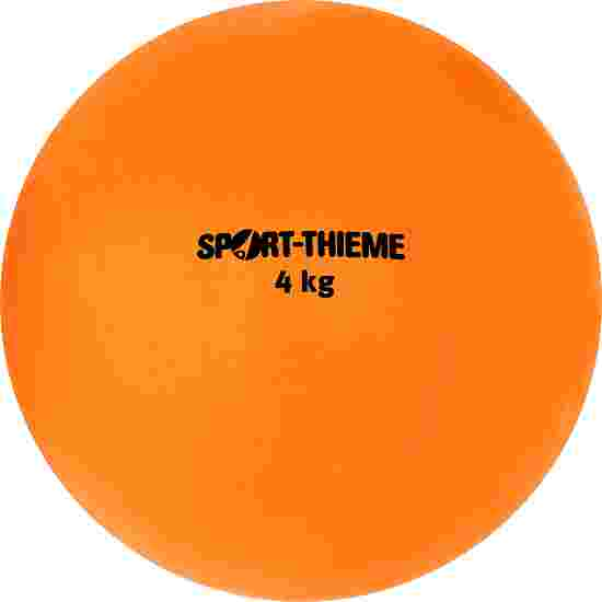 Sport-Thieme Stootkogel  van kunststof 4 kg, oranje, ø 134 mm