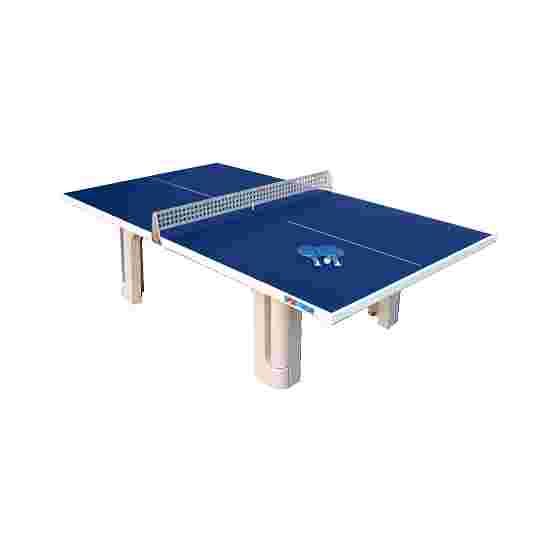 Sport-Thieme Table de tennis de table en béton polymère « Pro » Bleu