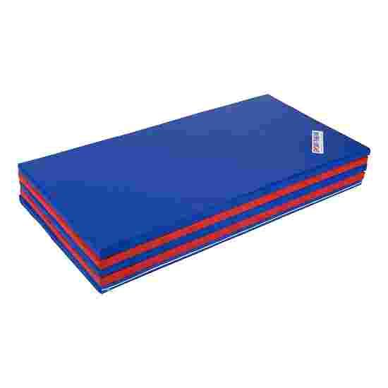Sport-Thieme Vouwmat 300x120x3 cm, Blauw-rrod