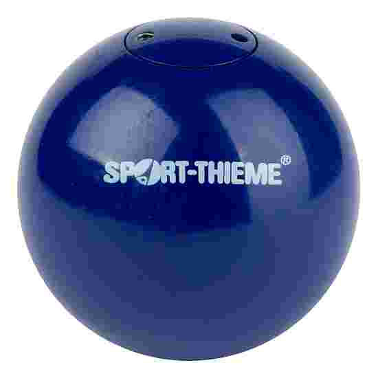 "Sport-Thieme Wedstrijd-Stootkogel ""Staal"" 2 kg, blauw, ø 80 mm"