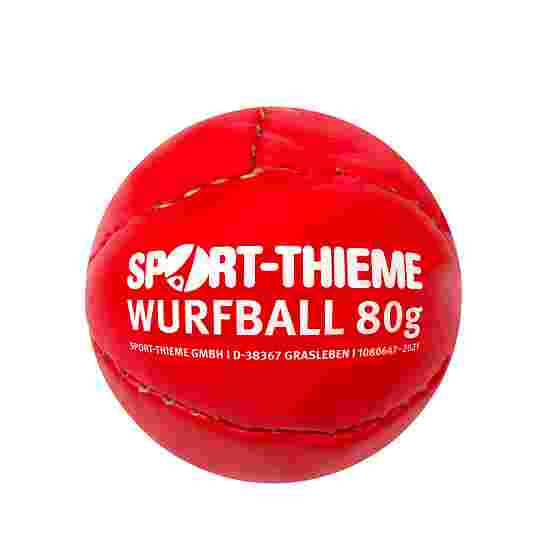 "Sport-Thieme Werpbal ""Leder 80"" Rood"
