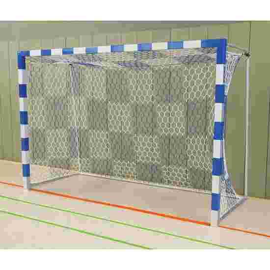 Sport-Thieme Zaalhandbaldoel Vastgeschroefde hoekverbindingen, Blauw-zilver