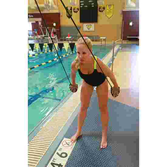 StrechCordz avec paddle de main Vert, résistance 3,6-10,8 kg