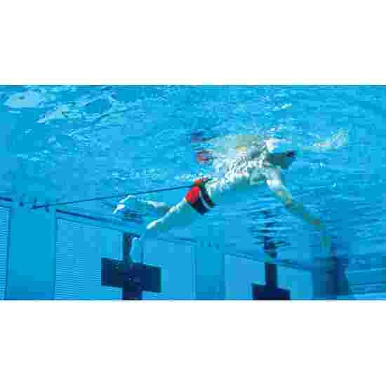 StrechCordz Ceinture d'aqua-gym courte Vert, résistance 3,6-10,8 kg