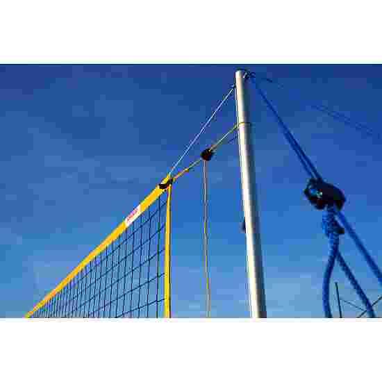 SunVolley Installation de beach-volley « Standard » Sans lignes de délimitation, 9,5 m