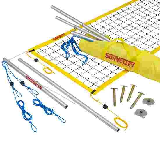 SunVolley Installation de beach-volley « Standard » Sans lignes de délimitation, 8,5 m