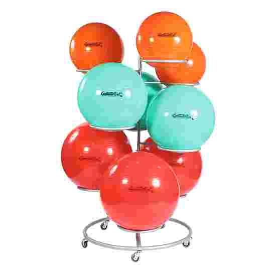 Support Sport-Thieme pour ballons de gymnastique (roulant)