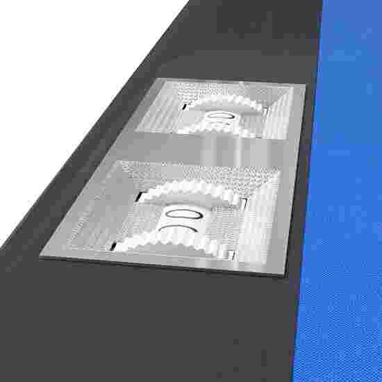 Table de billard Automaten Hoffmann « Galant Black Edition » Bleu, 8 ft