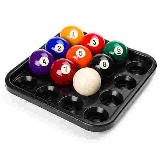 Tablette pour 16 billes de pool Noir