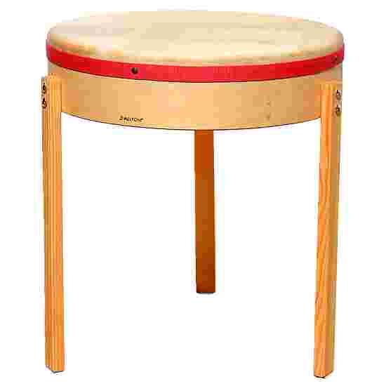Tambour table Allton ø 60 cm, peau naturelle