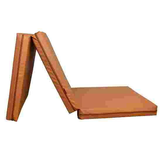 Tapis de gymnastique BenchK « Pliable » Marron