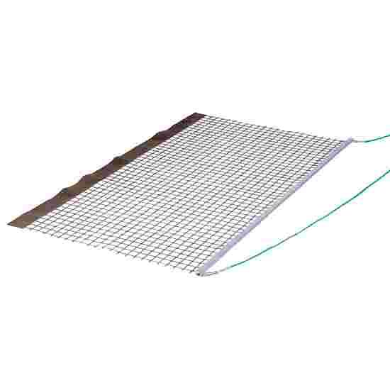 Tennissleepnet aluminium pvc enkel
