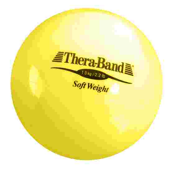 TheraBand Balle lestée « Soft Weight » 1 kg, jaune