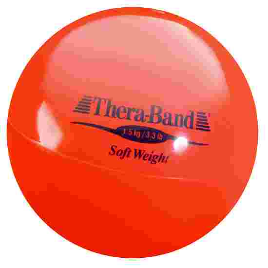 TheraBand Balle lestée « Soft Weight » 1,5 kg, rouge