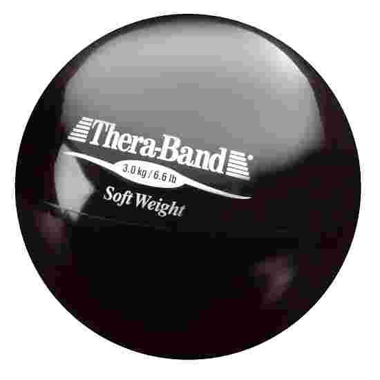 """TheraBand Gewichtsbal  """"Soft Weight"""" 3 kg, Zwart"""