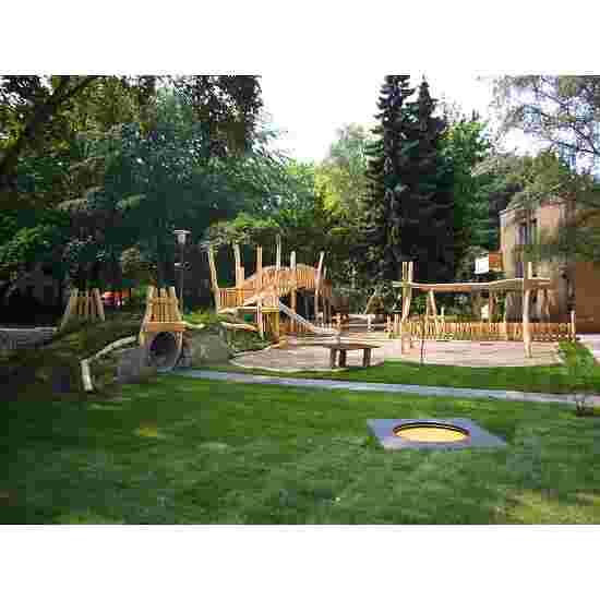 Trampoline pour enfants Eurotramp «Kindergarten Mini » Toile de saut ronde