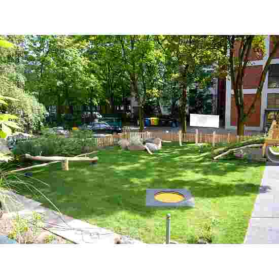 Trampoline pour enfants Eurotramp « Kindergarten » Toile de saut ronde