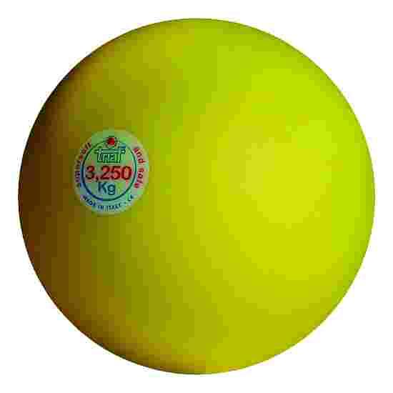 Trial Stootkogel 3,25 kg, geel