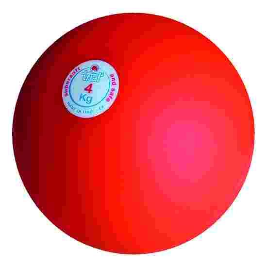 Trial Stootkogel 4 kg, rood