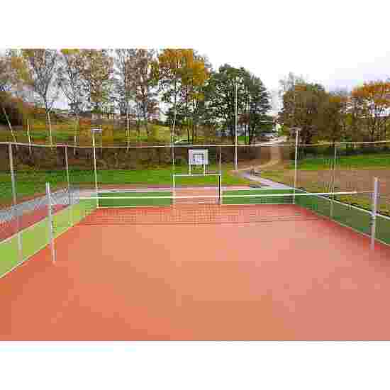 Volleybal-Installatie Voor courts breder dan 10 m