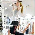 Sport-Thieme Bande d'entraînement  « Jumpstretch » Rouge, facile