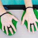 Sport-Thieme Paddles Swim-Power Taille S, 19x16 cm, Vert