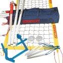 SunVolley Installation de beach-volley « Plus » Avec lignes de délimitation, 9,5 m