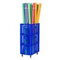 Sport-Thieme Chariot de rangement pour nouilles de piscine 60x40x106 cm