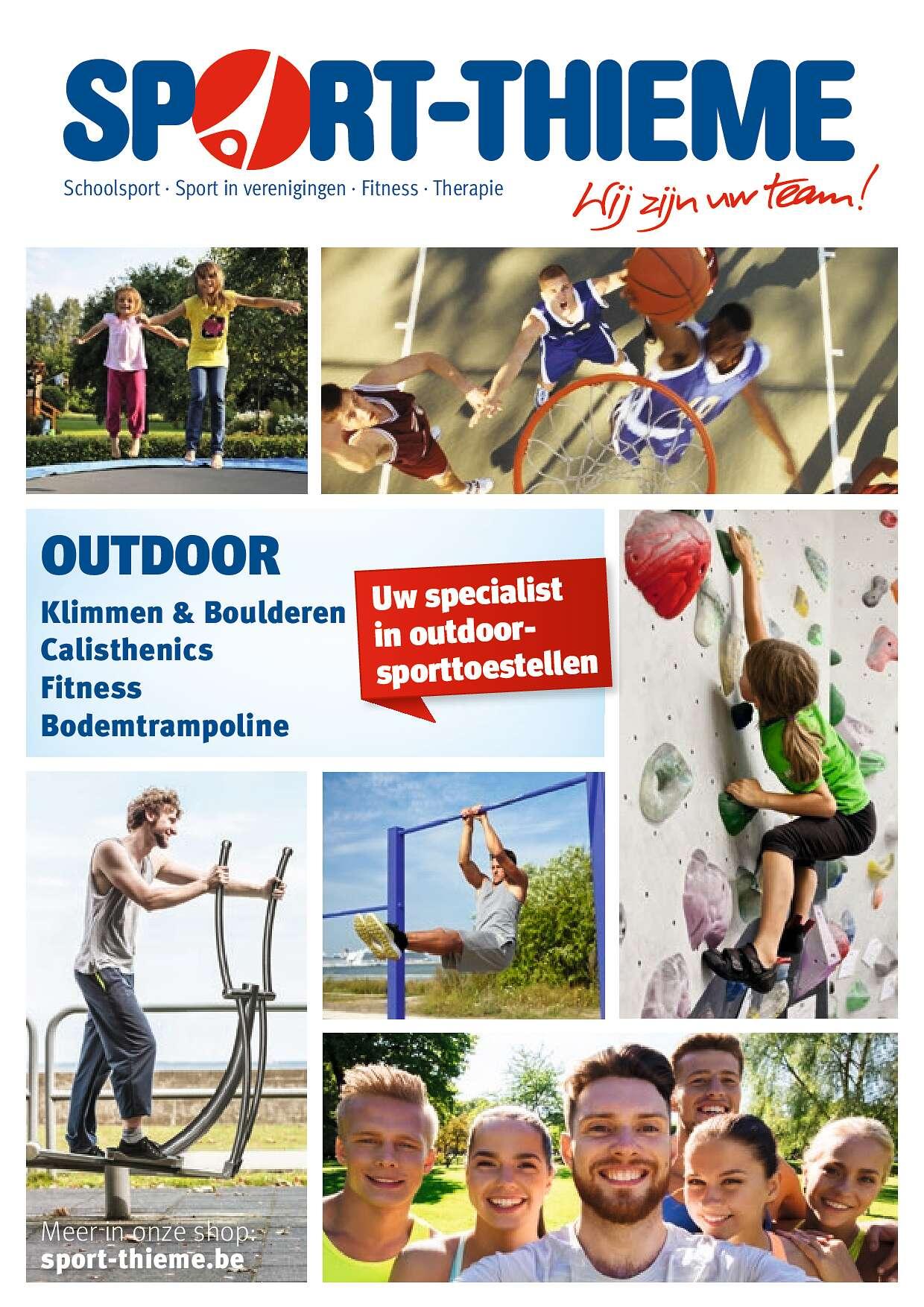 Sport-Thieme Outdoorflyer