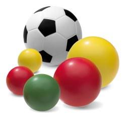 Lot de ballons en mousse PU Sport-Thieme