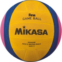 Ballon de water-polo Mikasa «W6000W» et «W6009W»