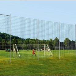 Sport-Thieme balvangnetinstallatie voor het sportterrein