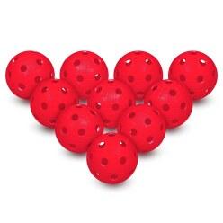 Set van 10 Floorball-Ballen Wit