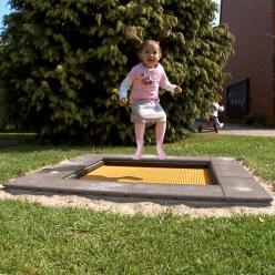 Trampoline pour enfants Eurotramp «Kindergarten Mini »