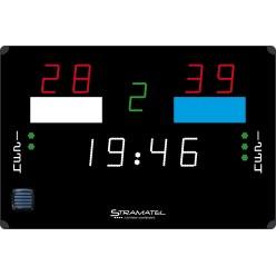 Tableau d'affichage pour water-polo Stramatel « 452 PS 900 »