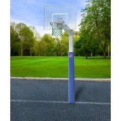But de basket Sport-Thieme « Fair Play Silent » avec filet en corde Hercules