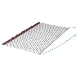 Filet de balayage alu PVC simple