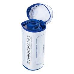 TheraBand 250 cm in opbergtasje met ritssluiting Geel, licht