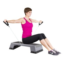 Sport-Thieme Fitness-Step-Tube 10-delige set