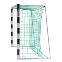 But de handball en salle Sport-Thieme 3x2 m, autostable avec angles d'assemblage en acier Premium
