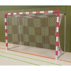But de handball en salle Sport-Thieme Noir-argent, Angles d'assemblage vissés