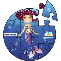 Puzzle aquatique Corail, Ronde