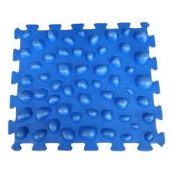 Sport-Thieme Tapis puzzle « Caillou » Bleu