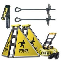 Gibbon Kit de slackline « Independence Kit Classic »