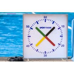 Horloge d'entraînement Sport-Thieme « Prima Super » 90x90 cm, modèle mural
