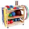 Sport-Thieme® Kleuterspeelzaal- en lagere schoolset, Met opbergwagen